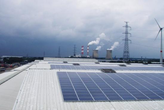 Genk – Coördinatie + renovatie dak en plaatsing zonnepanelen