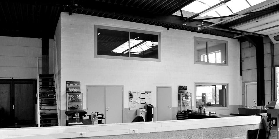 Keerbergen – Renovatie magazijn