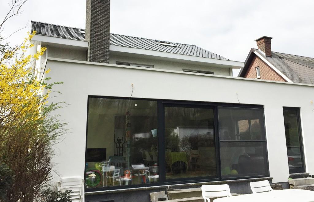 Mechelen- uitbreiding privéwoning